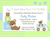 Baby Shower Invitations Templates Editable Boy Baby Shower Invitation Wording Lifestyle9