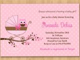 Baby Shower Invitations to Make at Home Baby Shower Invitations to Print at Home