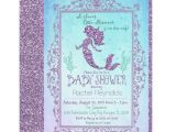Baby Shower Invitations Under $1 Mermaid Under the Sea Baby Shower Invitation