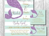 Baby Shower Invitations with Diaper Raffle and Book Request Mermaid Baby Shower Invitation with Matching Diaper Raffle