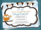 Baby Shower Invitations with Diaper Raffle Items Similar to Baby Owl Diaper Raffle Shower or Baby