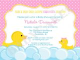 Baby Shower Invitations with Ducks Rubber Duck Baby Shower Invitation Rubber Duckie Invitation