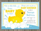 Baby Shower Invitations with Ducks Rubber Duck Baby Shower Invitation Rubber Ducky Baby Shower