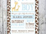 Baby Shower Invitations with Giraffes Giraffe Baby Shower Invitation Baby Sprinkle Diy Printable