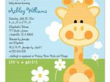 "Baby Shower Invitations with Giraffes Giraffe Baby Shower Invitations 5 25"" Square Invitation"