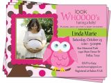 Baby Shower Invitations with Owl theme Owl themed Baby Shower Invitations Template