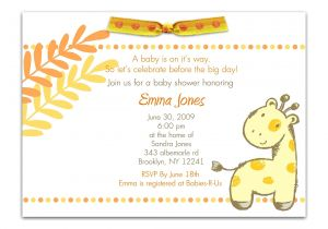 Baby Shower Invitations with Photo Template Baby Shower Invitation Baby Shower Invitations Templates