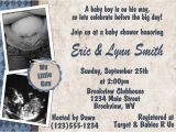 Baby Shower Invitations with Ultrasound Personalized Photo Invitations Cmartistry Our Little