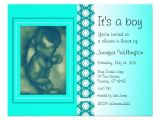 Baby Shower Invitations with Ultrasound Picture Baby Shower Invitation Green Ultrasound