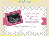 Baby Shower Invitations with Ultrasound Ultrasound Photo Baby Shower Invitation Pink or Blue