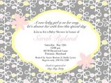 Baby Shower Invitations Wording Ideas Coed Baby Shower Invitation Wording