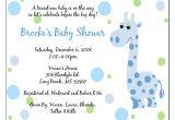 Baby Shower Invitations Wording Ideas Wording for Baby Shower Invitations Template