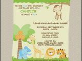 Baby Shower Invitations Zoo Animal theme Baby Shower Invitations Zoo Animals Awesome Free Printable