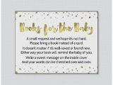 Baby Shower Invite Book Instead Of Card Baby Shower Invitation Awesome Baby Shower Invitation