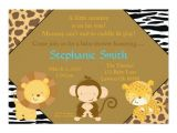 Baby Shower Invite Copy Safaribaby Copy E Join Us for A Baby Shower