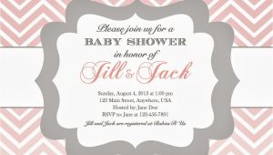 Baby Shower Invite Example In the Chou S Nest Girl Baby Shower Invitations