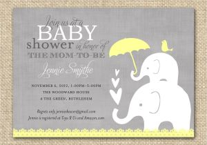 Baby Shower Invite Pictures Tips for Choosing Pink and Grey Elephant Baby Shower