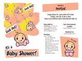 Baby Shower Invite Template for Email Baby Shower E Mail Invitation