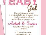 Baby Shower Invite Text Baby Shower Invitation Wording