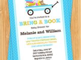 Baby Shower Invite Wording Bring A Book Bring A Book Baby Shower Invitation by eventfulcards On Etsy