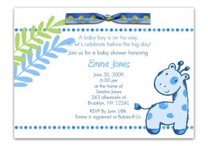 Baby Shower Invite Wording for Boy Baby Shower Invitation Wording for A Boy theruntime Com