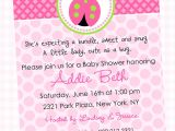 Baby Shower Invite Wording for Girl Wording for Baby Girl Shower Invitations theruntime Com