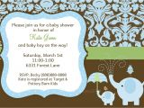 Baby Shower Invites for A Boy Baby Shower Baby Boy Shower Invitations Card
