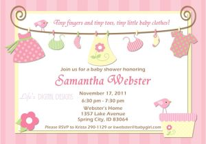 Baby Shower Invites Girl Baby Shower Invitations for Boy & Girls Baby Shower