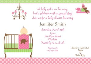 Baby Shower Invites Girl Baby Shower Invitations for Girls Baby Shower
