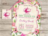 Baby Shower Invites Tea Party theme Baby Shower Tea Party Shower Invitations Party Download