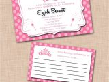 Baby Shower Invites Walmart Template Printable Princess Baby Shower Invitations