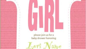 Baby Shower Its A Girl Invitations Free It S A Girl Baby Shower Invitation Printable Digital