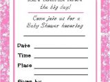Baby Shower Its A Girl Invitations Free Perfect Baby Girl Shower Invitations