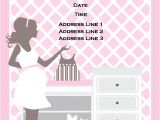 Baby Shower Its A Girl Invitations Free Template Baby Free Printable Shower Girl Invitations Uk