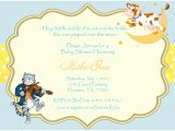 Baby Shower Rhyme Invite 3 Monkeys and More Nursery Rhyme Baby Shower Invitations