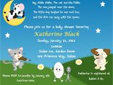 Baby Shower Rhyme Invite Nursery Rhyme themed Invitation Digital File