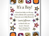 Baby Shower Sports Invitations 8 Best Of Sports theme Printable Templates Free