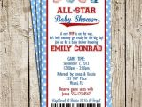 Baby Shower Sports Invitations Best 25 Sports Baby Ideas On Pinterest