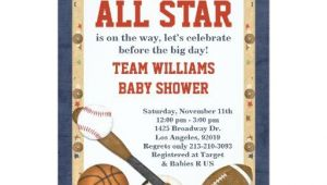 Baby Shower Sports Invitations Sports Baby Shower Invitations