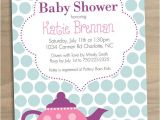 Baby Shower Tea Party Invitations Free Printable Tea Party Baby Shower Invitation $15