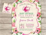 Baby Shower Tea Party Invitations Free Tea Party Baby Shower Invitations Party Xyz