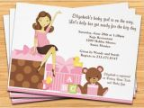 Baby Shower Titles for Invitations Cute Pregnant Mom Baby Shower Invitation