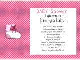 Baby Shower Verbiage Invites June 2012