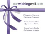 Baby Shower Wishing Well Invitation Wording Ourwishingwell Line Gift Registry and Wishing Well