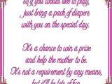 Baby Shower Wishing Well Wording On Invitations Diaper Wishing Well Poem