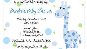 Baby Shower Wording for Invitations Invitation Baby Boy Quotes Quotesgram