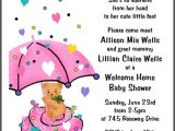 Baby Welcome Party Invitation Templates Welcome Home Baby Invitations Wording Cobypic Com