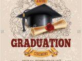 Bachelor Graduation Invitations Invitation Flyer Templates Free Premium Templates