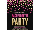 Bachelorette Party Invitations Templates Shimmer Shine Bachelorette Party Invitation Zazzle Com
