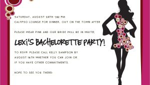 Bachelorette Party Invite Wording Party Invitations Bachelorette Party Invitation Wording